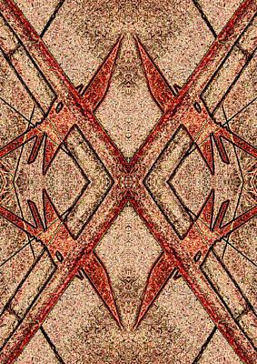 X Photograph - X Figured Snare 2013 by James Warren