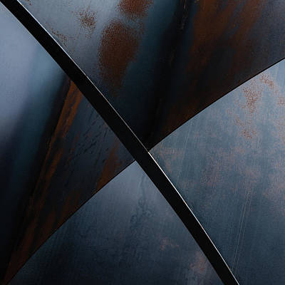 Rusted Metal Wall Art - Photograph - X by Luc Vangindertael (lagrange)