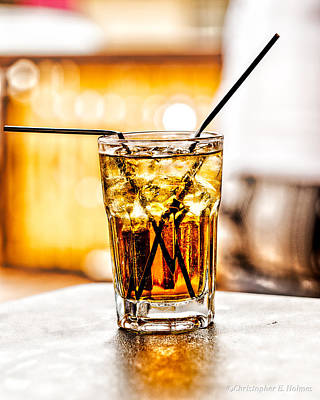 Photograph - X Marks The Drink by Christopher Holmes