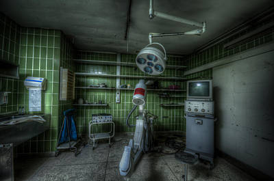 Digital Art - X Ray Room by Nathan Wright