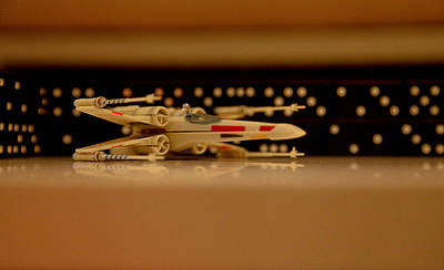 Photograph - X Wing by Linda Freebury