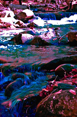 Turquois Water Photograph - Xanadu by DigiArt Diaries by Vicky B Fuller