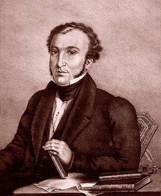 1833 Photograph - Xavier Chabert by National Library Of Medicine