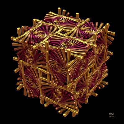 Digital Art - Xd Box by Manny Lorenzo