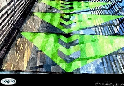 Digital Art - Xeranthemum Cheerful In Adversity by Holley Jacobs