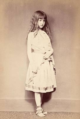 Xie Standing, C.1875 Print by Lewis Carroll