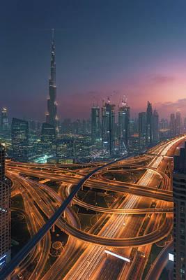 Skyscrapers Wall Art - Photograph - Xing by Javier De La