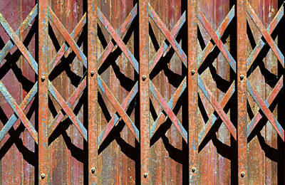 Grate Photograph - Xlxl... by A Rey