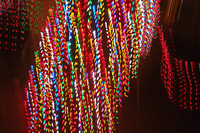 Photograph - Xmas Lights by David Pantuso