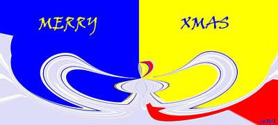 Abstract Mixed Media - Xmas One by Sir Josef - Social Critic - ART