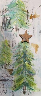 Painting - Xmas Tree by France Laliberte
