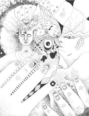 xo Art Print by Helena Tiainen