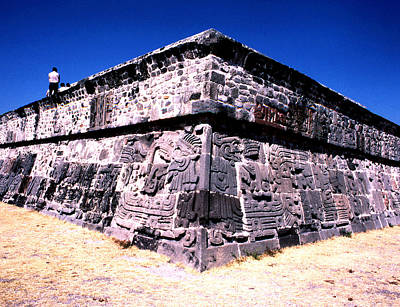 Photograph - Xochicalco - Temple Of The Feathered Serpent by Robert  Rodvik