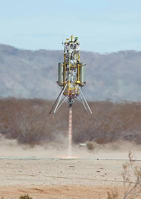 Rocket Science Photograph - Xombie Rocket Craft Test Flight by Nasa/tom Tschida
