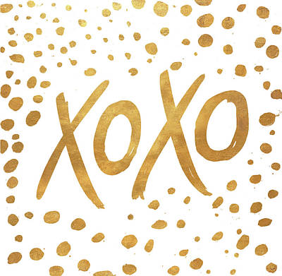 Xoxo Art Print by Patricia Pinto