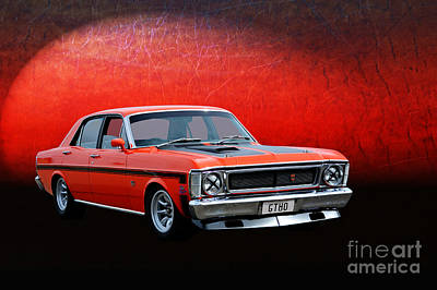 Photograph - Xw Ford Falcon Gtho by Stuart Row