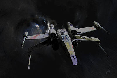 Photograph - Xwing Reworked by Chris Thomas