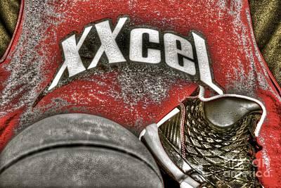Xxcel Bball Graffiti  Art Print