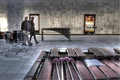 Drummer Photograph - Xylophone by Jane Linders
