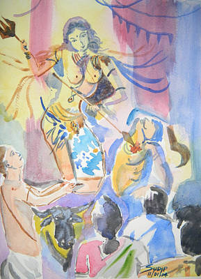 Ya Devi Sarv Bhuteshu Original by Sudip Mitra