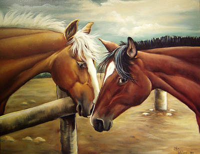 Painting - Ya Don't Say by Lori Salisbury
