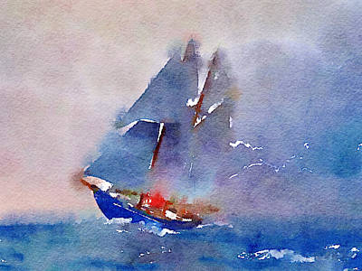 Yacht 1 Art Print