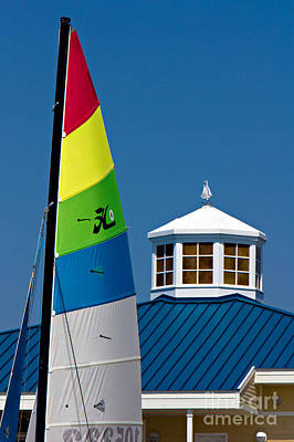 Yacht Club Art Print