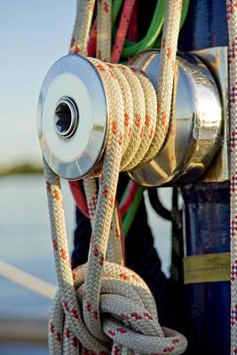 Yacht Detail - Block Art Print