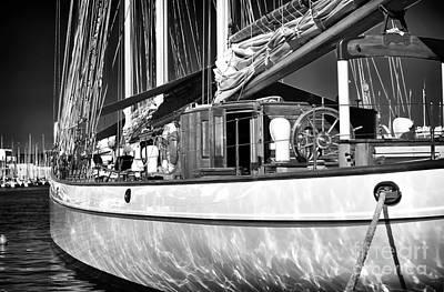 Yacht Reflections Art Print