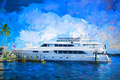 Photograph - Yacht Watch Series 07 by Carlos Diaz