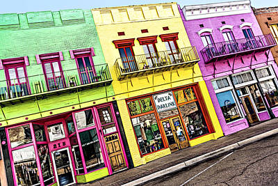 Photograph - Yazoo City Main Street by Maria Coulson