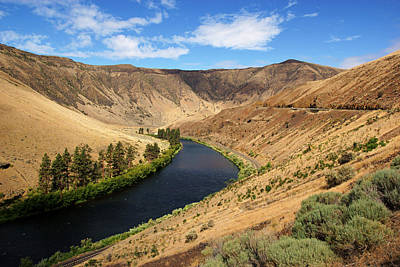 Photograph - Yakima Canyon by Daniel Woodrum
