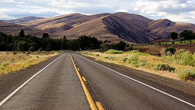 Photograph - Yakima Canyon Road by Daniel Woodrum