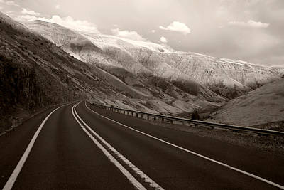 Photograph - Yakima Canyon Road No.2 by Daniel Woodrum