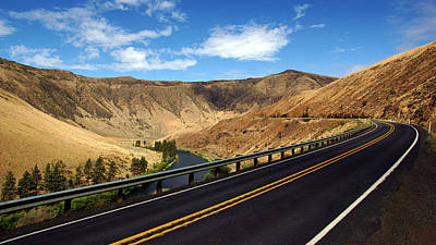Photograph - Yakima Canyon Road No.3 by Daniel Woodrum