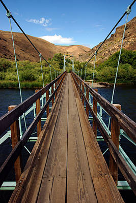 Photograph - Yakima River Bridge At Umtanum Creek by Daniel Woodrum