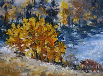 Yakima River View Art Print