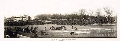 Yale Photograph - Yale Football Circa 1898 by Jon Neidert