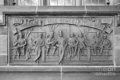 Photograph - Yale University Fence Club Detail by University Icons