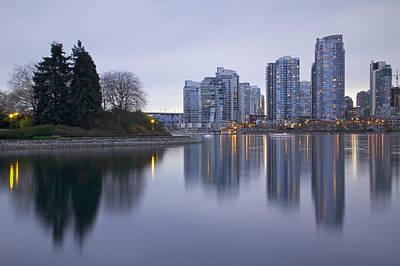 Lagoon Photograph - Yaletown by Genaro Rojas