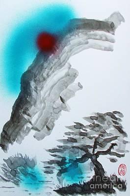 Painting - Yama Yanagi No Ki Kawa by Roberto Prusso
