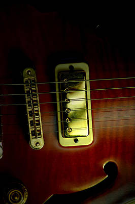 Photograph - Yamaha Hollowbody by David Weeks