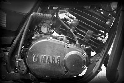 Photograph - Yamaha by Kelly Hazel