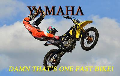 Photograph - Yamaha One Fast Bike by David Lee Thompson