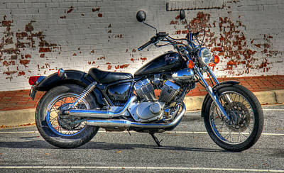 Photograph - Yamaha Virago 01 by Andy Lawless