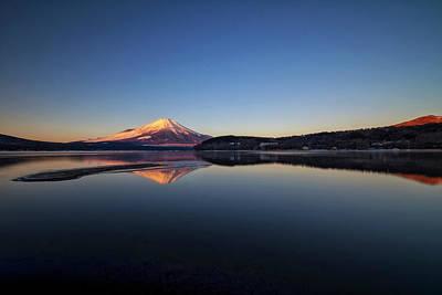 Scenery Photograph - Yamanaka Lake by Nyoman Sundra