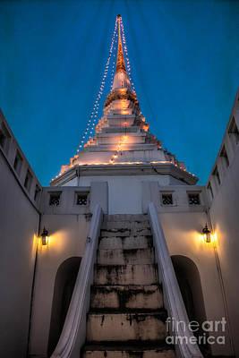 Buddhist Photograph - Yan Nawa Temple by Adrian Evans