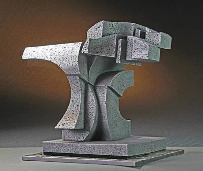 Sculpture - Yang by Richard Arfsten