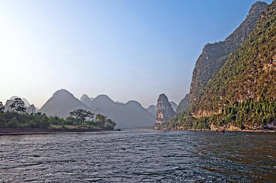 Photograph - Yangshuo Li River Guilin China by Marek Poplawski