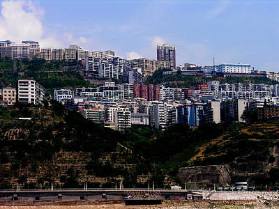 Photograph - Yangtze River - New Town Project by Jacqueline M Lewis